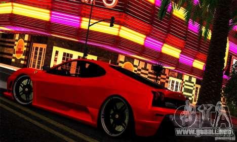 SA gline v4.0 Screen Edition para GTA San Andreas octavo de pantalla