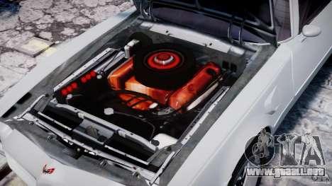 Pontiac Firebird Esprit 1971 para GTA 4 vista lateral