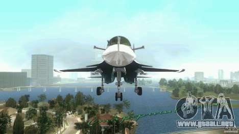 Vice City Air Force para GTA Vice City left