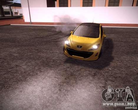 Peugeot 308 GTi 2011 para GTA San Andreas left