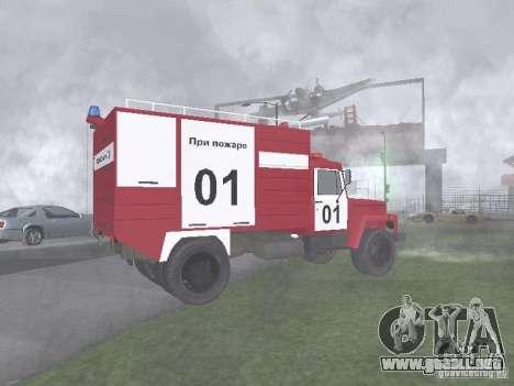 GAZ 3309 fuego para GTA San Andreas left