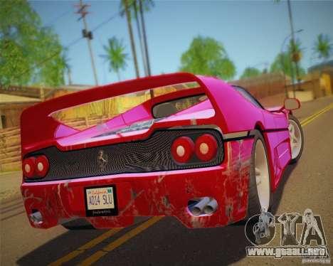 GTA IV Scratches Style para GTA San Andreas sexta pantalla