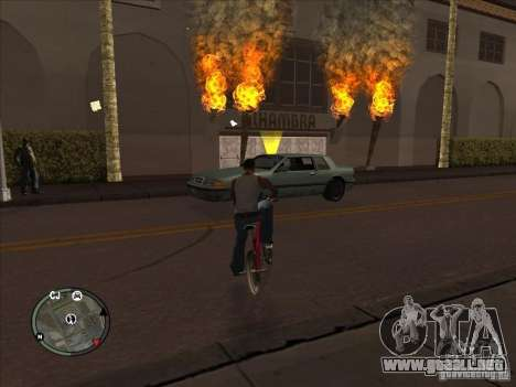 Addon para iconos para GTA San Andreas sucesivamente de pantalla