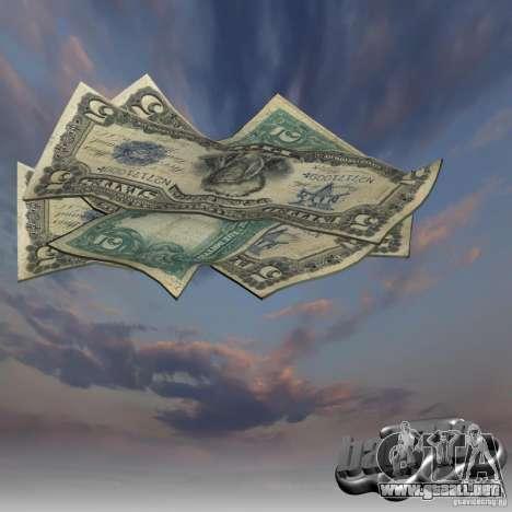 Dinero nuevo para GTA San Andreas