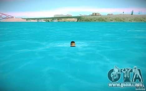 Agua HD para GTA San Andreas quinta pantalla