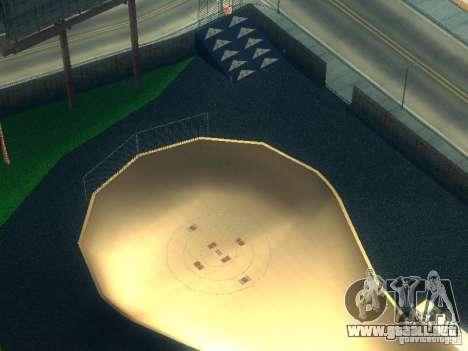 New BMX Park para GTA San Andreas tercera pantalla