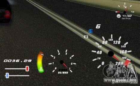Un velocímetro único para GTA San Andreas segunda pantalla