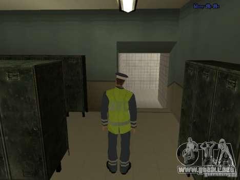 Inspector DPS para GTA San Andreas segunda pantalla