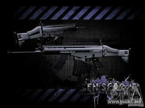 FN Scar-L HD para GTA San Andreas