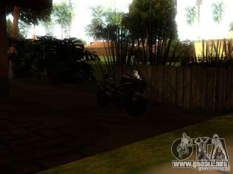 New Car in Grove Street para GTA San Andreas sexta pantalla