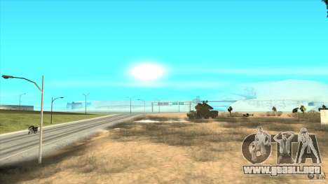 ADMS AVISPA para la vista superior GTA San Andreas
