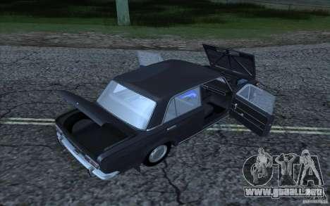 VAZ 2101 para GTA San Andreas vista hacia atrás