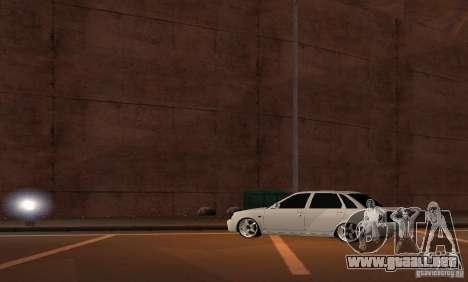 LADA priora v. 2 para la visión correcta GTA San Andreas