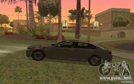 BMW M5 para GTA San Andreas left