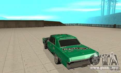 Pontiac GTO 1965 Speed King-NFS Pro Street para la visión correcta GTA San Andreas