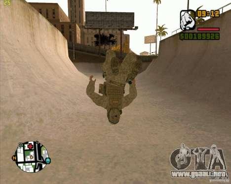 Parkour discipline beta 2 (full update by ACiD) para GTA San Andreas sucesivamente de pantalla