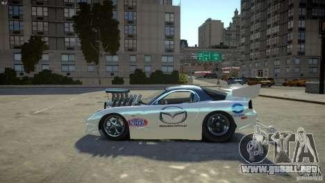 Mazda rx7 Dragster para GTA 4 left