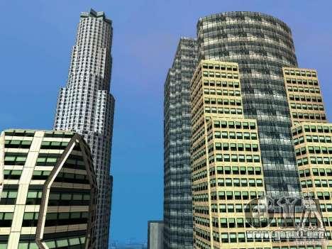 Nueva textura de rascacielos Downtown para GTA San Andreas