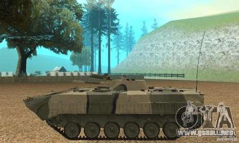 Camo BMP-1 para GTA San Andreas left