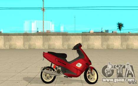 Gilera Runner 50SP Skin 5 para GTA San Andreas left