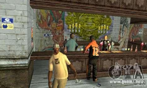 Drunk mod para GTA San Andreas tercera pantalla