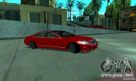 Mercedes-Benz S65 AMG Estate Edition para GTA San Andreas vista hacia atrás