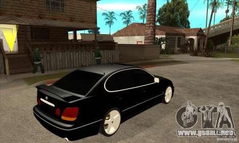 Año 2001 TOYOTA ARISTO para la visión correcta GTA San Andreas
