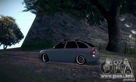 VAZ-2172 JDM para visión interna GTA San Andreas