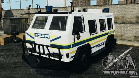 RG-12 Nyala - South African Police Service para GTA 4