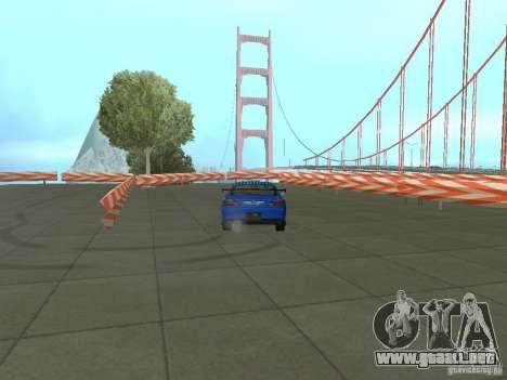 New Drift Track SF para GTA San Andreas sexta pantalla