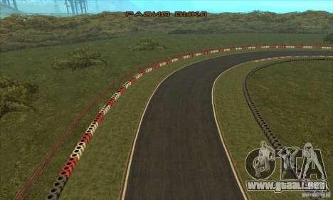 GOKART pista ruta 2 para GTA San Andreas twelth pantalla