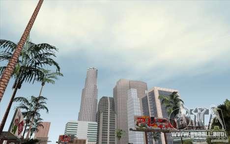 Timecyc Los Angeles para GTA San Andreas segunda pantalla