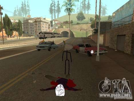 Meme Ivasion Mod para GTA San Andreas sucesivamente de pantalla