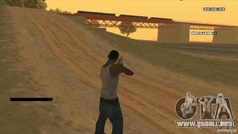 El punto en lugar de la vista para GTA San Andreas