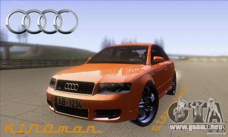 Audi S4 DIM para GTA San Andreas