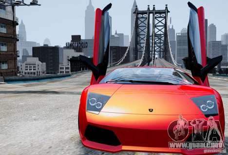 ENB Rage of Reality v 4.0 para GTA 4 adelante de pantalla
