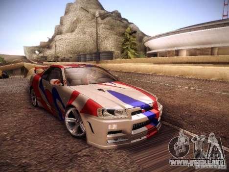 Nissan Skyline full tune para GTA San Andreas