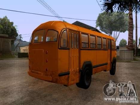 LIAZ 158 para GTA San Andreas left