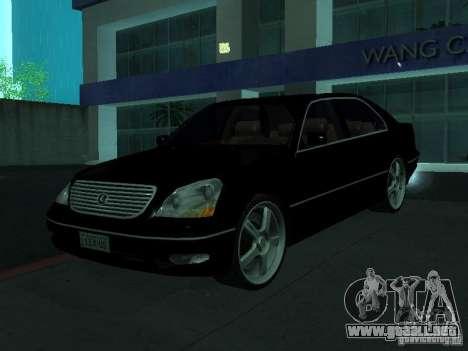 Lexus LS 430 para GTA San Andreas