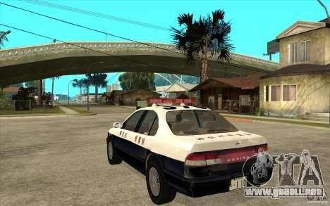 Nissan Cefiro A32 Kouki Japanese PoliceCar para visión interna GTA San Andreas