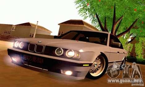BMW E34 525i para visión interna GTA San Andreas