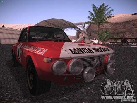 Lancia Fulvia Rally Marlboro para GTA San Andreas left