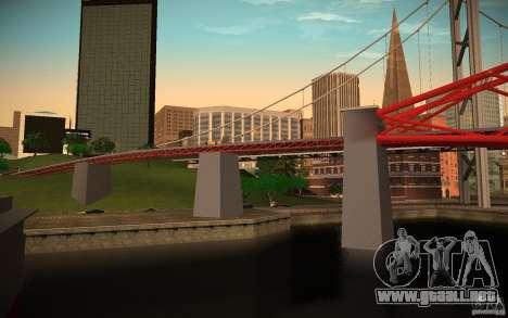 HD Red Bridge para GTA San Andreas segunda pantalla