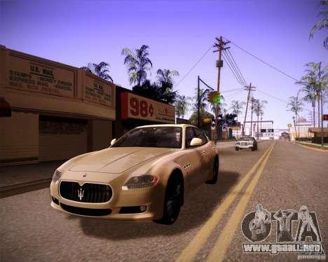 ENBseries by slavheg v2 para GTA San Andreas sexta pantalla