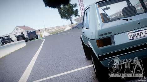 Volkswagen Golf Mk1 para GTA 4 vista lateral
