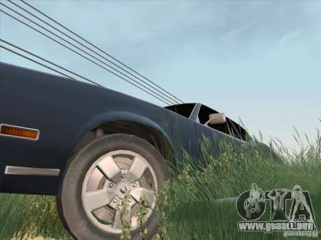 Sabre HD para la visión correcta GTA San Andreas
