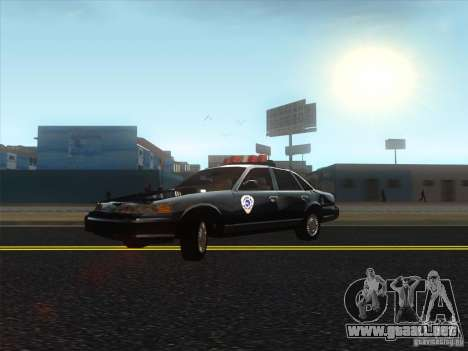 Ford Crown Victoria 1992 Detroit OCP para GTA San Andreas