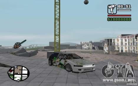 Honda Sivic deriva para GTA San Andreas