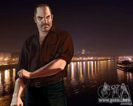 Pantalla de arranque de Rusia en América para GTA 4 tercera pantalla