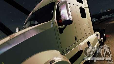 Kenworth T700 2010 Final para GTA 4 vista hacia atrás